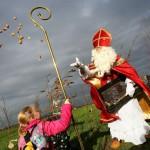 Sint brengt bloembollen