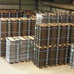 export bollen klaar voor export