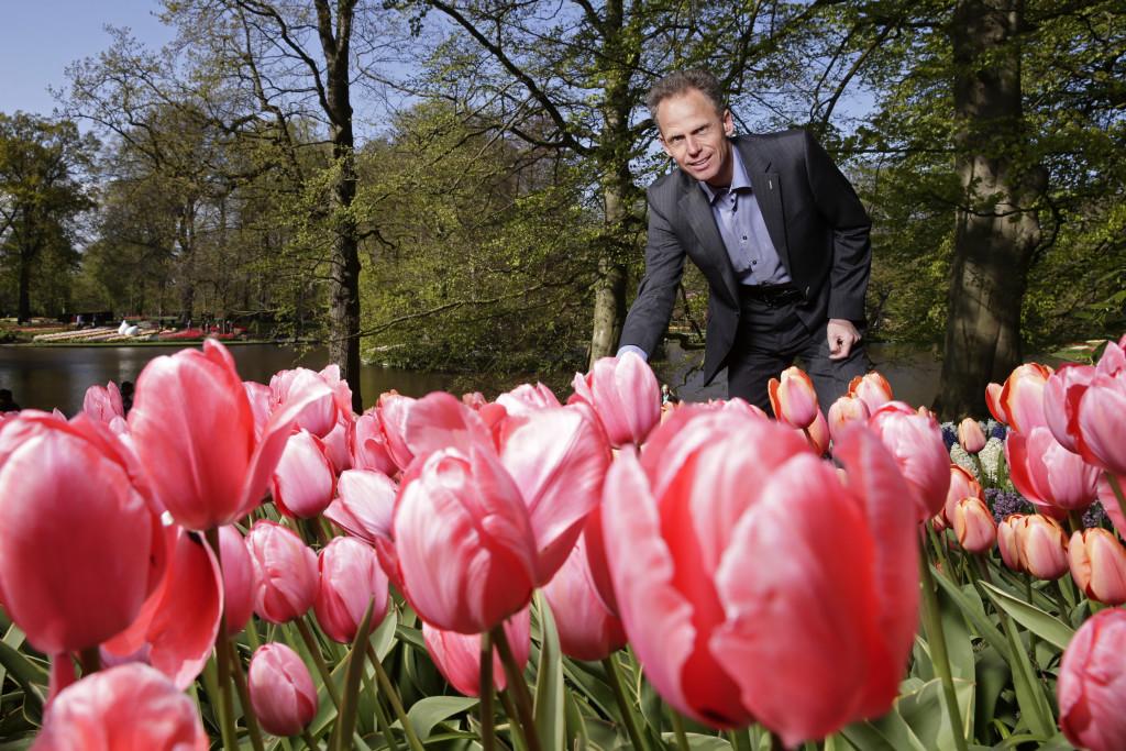 Bart Siemerink, directeur Keukenhof